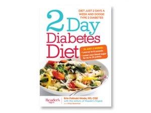 Livre de régime pour le diabète pendant 2 jours